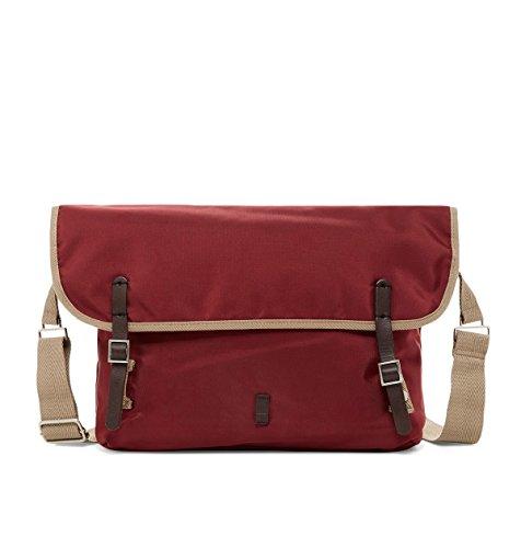 Ben Sherman Men's Pack Messenger Bag, One Size (Maroon)