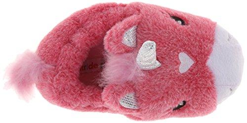 f9d87b1e0 Stride Rite Girl's Light-Up Unicorn Slipper, Pink/Multi, 11/12 - Buy ...