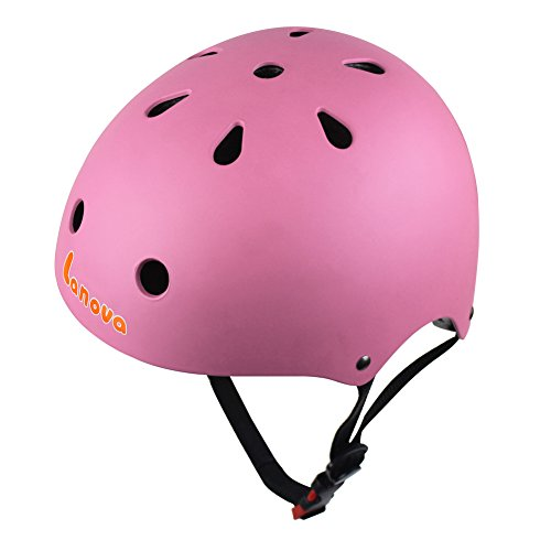 Lanova Adjustable Kids Cycling Multi-Sport Safety Bike Skating Scooter Helmet for 3 to 8 Years Old Girls/Boys