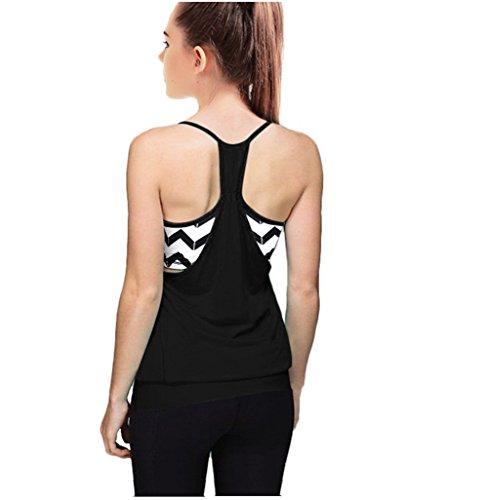 Women's Gym Workout Active Sports Yoga Racerback Tank Top ...