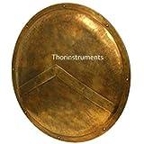 Piru 300 Spartan Shield King Leonidas 36'' - Official Replica - Antique Brass