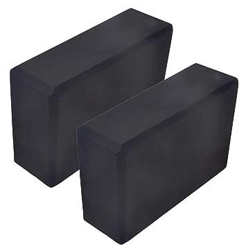 Amazon.com : Belavig 2pcs Yoga Blocks Set High Density EVA ...