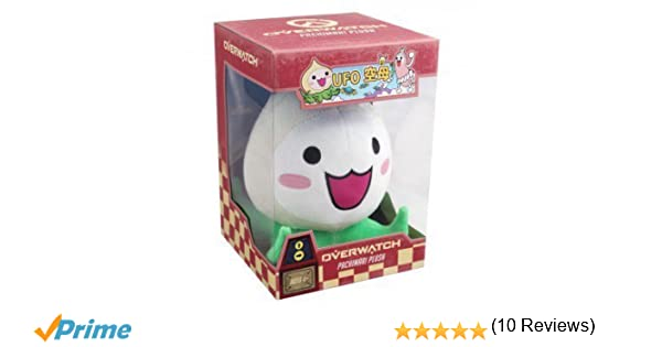 Official Overwatch Pachimari Plush Toy in package from Blizzard Entertainment