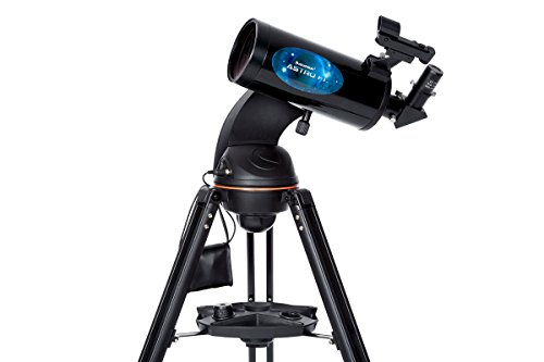 Celestron AstroFi 102 Wi-Fi Maksutov Wireless Reflecting Telescope, Black (22202) Celestron Acquisition LLC