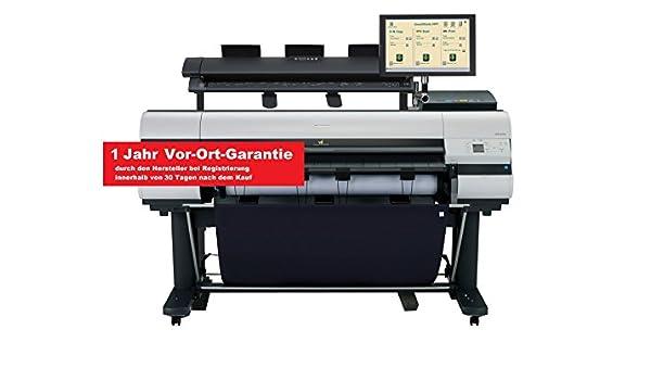 Canon imagePROGRAF ipf830 M40 Gran Formato con Stand, escáner, PC + Touch Monitor (A0, 111,76 cm, 2.400 x 1.200, USB, LAN, Preparado para Nube): Amazon.es: Electrónica
