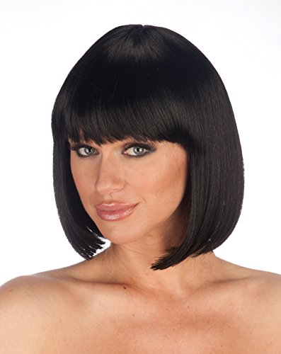 New Look Wigs Women's Premium Quality Bob Wig - Black ()