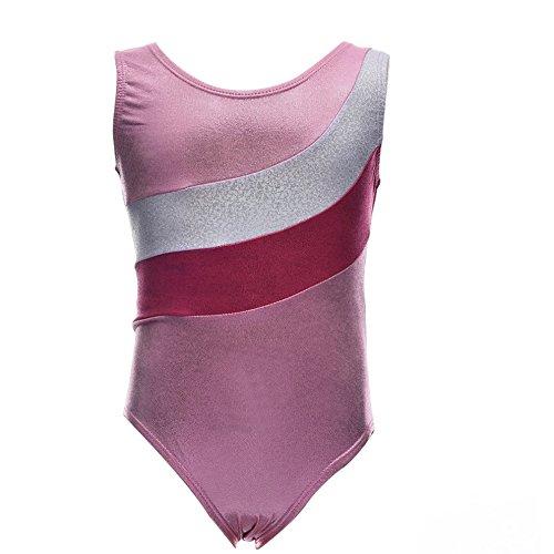 Filles Weixinbuy Colorimétrie Gymnastique De Danse Ballet Justaucorps Rose Pour Les Enfants