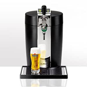 Krups VB5020FR - Dispensador de cerveza, color negro y metálico