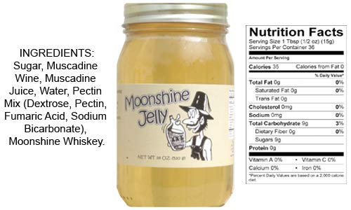 Southern Moonshine Jelly by D`Vine Foods