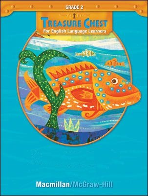 Macmillan McGraw Hill Treasures Treasure Chest for English Language Learners ELL Grade 2 Practice Book Annotated Teacher's Edition Vocabulary Blackline Masters 0021962642