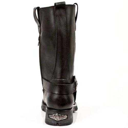 S1 Schwarz Herren Stiefel schwarz Rock New Boots Style 7610 wY84A7xq