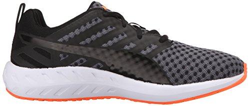Chaussures De Course Flare Puma Femmes Noir / Blanc / Pêche Fluorescente