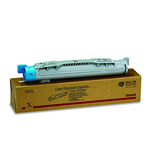 Genuine Xerox Cyan Toner Cartridge for the Phaser 6250, 106R00668