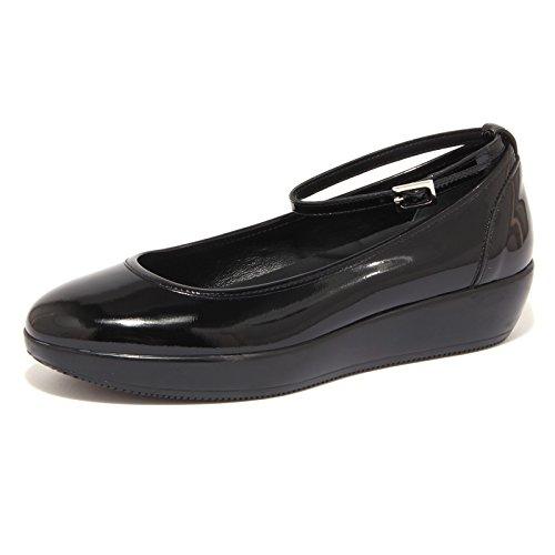 2627G ballerina HOGAN H186 CINTURINO nero scarpa donna shoe women Nero