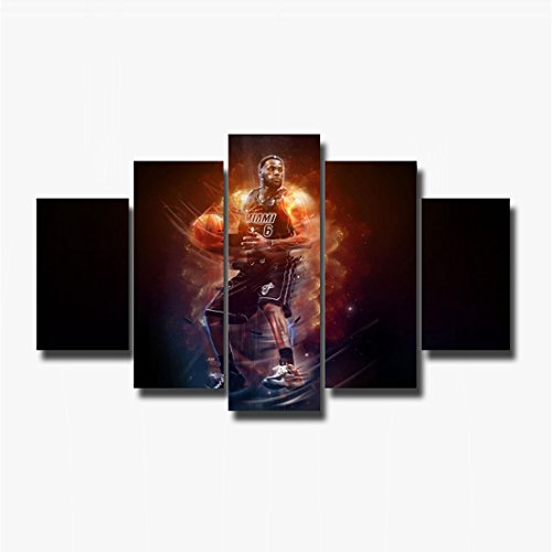 Earth Village Art- Basketball Canvas Oil Wall Art Abstract Home Decorative Cheap Art Picture Paint