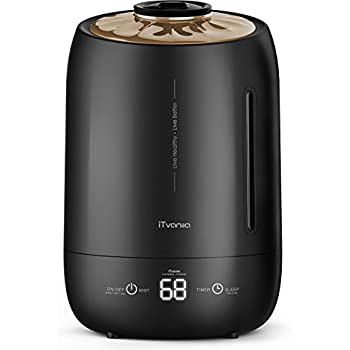 Amazon.com: Digital Humidifier with Humidity and Timer Settings ...