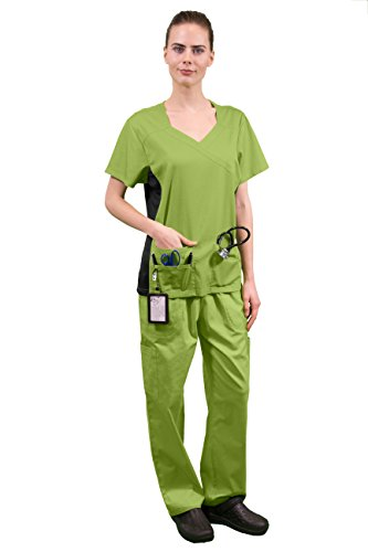 womens-super-stretch-medical-scrubs-set-scr44807-apple-gree-medium
