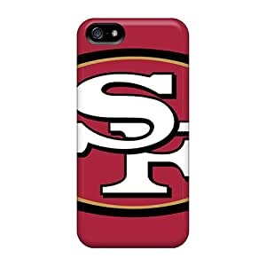 New Premium Flip Cases Covers San Francisco 49ers Skin Cases For Iphone 5/5s