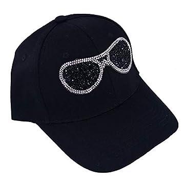 HONGHENG Casual Mujer Gafas De Diamantes De Imitación Gorra De ...