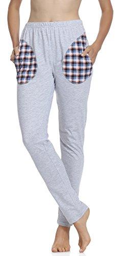 Merry Style Pantalones de pijama para Mujer MPP-002 Melange