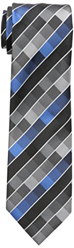 Geoffrey Beene Men's New Rafalla Tie, black, One Size