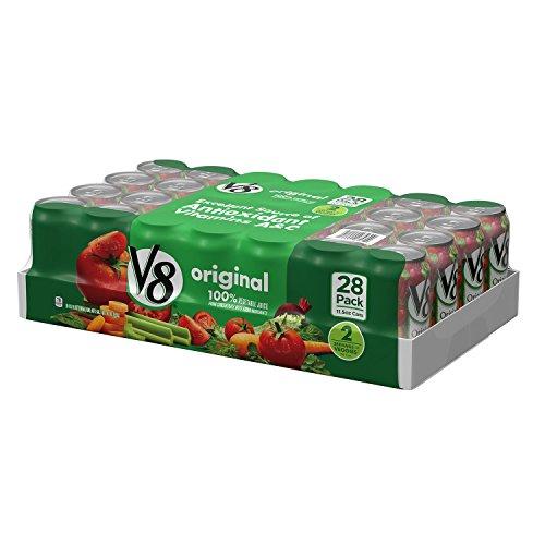 V8 Original Vegetable Juice (11.5 oz. cans, 28 ct.) (pack of 6) by V8