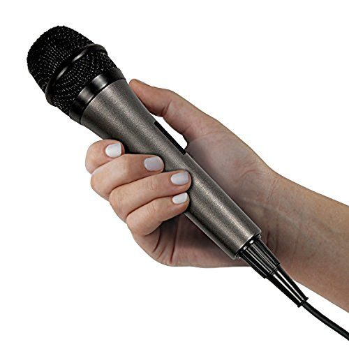 Bundle Includes 2 Items - Singing Machine SML385BTBK Top Loading CDG Karaoke System with Bluetooth, Sound and Disco Light Show (Black) and Singing Machine SMM-205 Unidirectional Dynamic Microphone by Singing Machine and Singing Machine (Image #7)