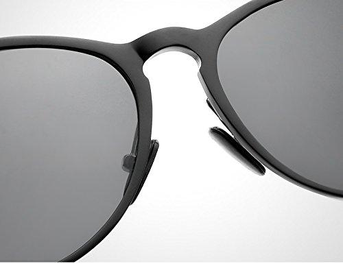 polarisées de Gray Lunettes Soleil Soleil Soleil Lunettes Hommes Lunettes Vintage Weichunya Oculos rétro Lunettes Gray de gray De pour Lunettes de Femmes Sol Gray Color xgEZvwTnqY