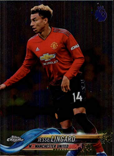 6ead3d99a Amazon.com  2018-19 Topps Chrome Premier League  40 Jesse Lingard NM-MT Manchester  United Official Soccer Trading Card  Collectibles   Fine Art