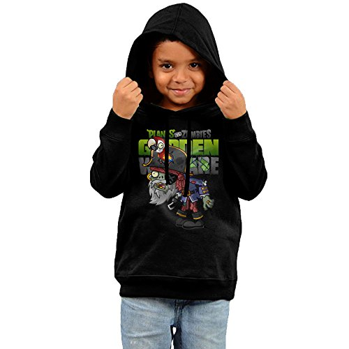 Comfortable Toddler Boys Girls Hooded Sweatshirts Plants Vs Zombies Garden Warfare (Bubble Mashine)