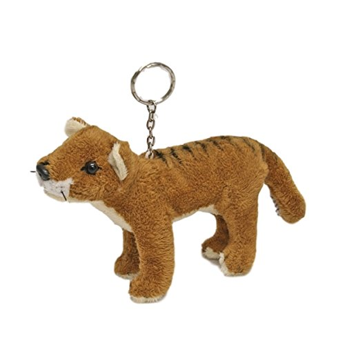 Amazon Com Bocchetta Plush Toys Tasmanian Tiger Thylacine Key Ring
