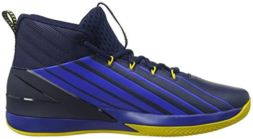 Pictures of Under Armour Men's Launch Basketball Shoe 3020622 Academy (400)/Royal 3