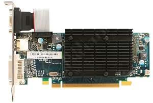Sapphire Radeon HD 5450 - Tarjeta gráfica PCIe (512 MB DDR3, VGA, DVI, HDMI, LP Passive)