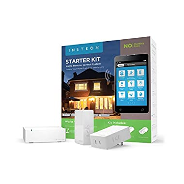 Insteon 2244-234 Starter Kit, 1 Hub and 2 Dimmer Plugs