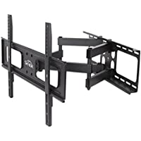 Simbr TV Wall Mount Bracket Full Motion with Articulating Arms for 32-70  LED, LCD, Plasma Flat Screen TV, up to 110 lbs VESA 600x400mm