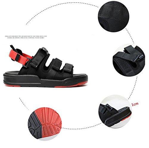 Casual D'été 001 Pantoufle Deux Porter Nvxie Couple Chaussures Fond Épais De Sandales Saison Façons Exercice Plage D'extérieur Unisexe Femme Hommes xHFxY7Z
