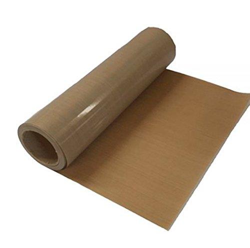 Xinghoo 40'' x 5M Teflon PTFE Sheet Craft Mat Roll 100% Non-Sticks 10Mil Thickness by Xinghoo