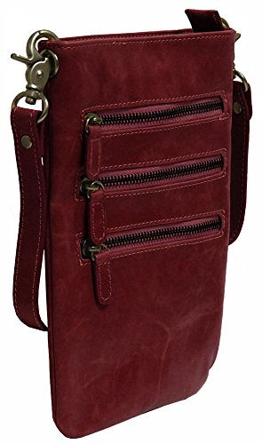 Berry Cross Handbags Pouch Body Shiraleah Harper F6qcxX