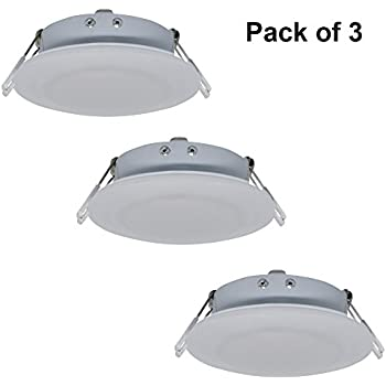 amazon com facon 4 5inch led rv puck light recessed mount down
