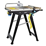 wolfcraft 6906506 Master Cut 1500-precision Saw Table and Work Station, Black