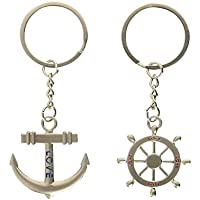 haahaha Lovely Lover Anchor timón regalo clave cadena