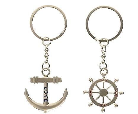 haahaha Lovely Lover Anchor timón regalo clave cadena ...