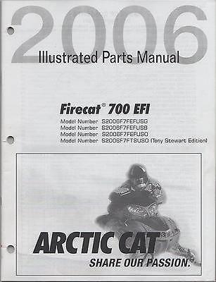 Read Online 2006 ARCTIC CAT SNOWMOBILE FIRECAT 700 EFI PARTS MANUAL (408) pdf