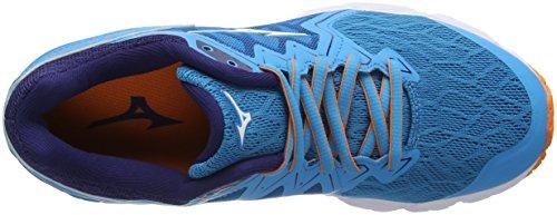 Azul Zapatillas para 01 Mizuno Wave Mujer Ultima White Birdofparadise Running Hawaiianocean de 10 wt1Cqt8