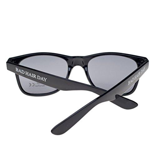 Gafas diseño 4sold TM Hair cristales de Negro Day negro sol Bad ochentero sun unisex con ahumados RR05qr