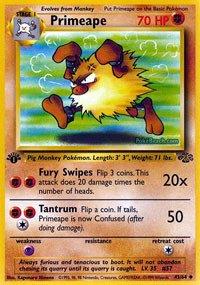 Pokemon - Primeape (43) - Jungle