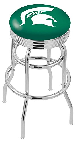"NCAA Michigan State Spartans 30"" Bar Stool"