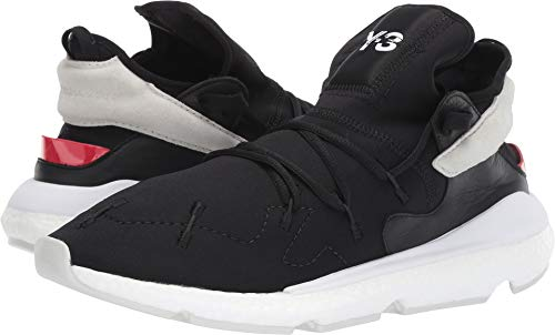 adidas Y-3 by Yohji Yamamoto Unisex Y-3 Kusari II Core Black/Red/Footwear White 12 M UK