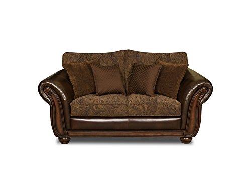 Simmons Upholstery 8104-02 Zephyr Aspen Loveseat (Upholstery Loveseat)