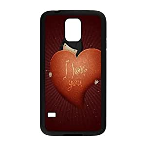 I Love You Valentines Day Samsung Galaxy S5 Cell Phone Case Black toy pxf005_5804845